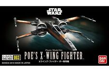 Star Wars Model Kit Poe's X-Wing Fighter Vehicle Model 003 No scale Bandai Japan