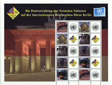 United Nations UN Personalized Sheet Stamp S14 New York #907c Berlin Expo 2006