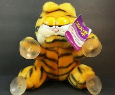 Vintage Garfield The Cat Plush Window Cling Car Toy Jim Davies