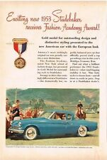 1953 Studebaker Commander V-8 Regal Starlight Coupe Vintage Print Ad
