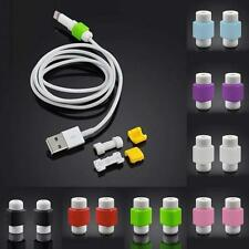 10pcs Protector Saver Cover for Apple iPhone Lightning USB Charger Cable Cord50