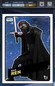 Topps Star Wars Card Trader Kylo Ren TROS Challengers Space Award 16cc