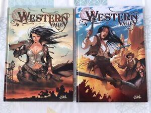 lot 2BD Western Valley n1 et 2 - récit complet(Di Giorgio/ Mormile) 1ere edition