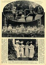 Kronprinzessin Maria in rumänischer Tracht 1906 * Historische Memorabile