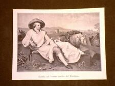 Johann Wolfgang von Goethe Quadro di Tischbein