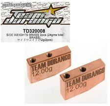 RC Team Durango TD320008 Side Weights Brass DEX410 DEX410v3 DEX410v4 DEX410Rv3