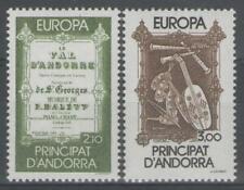 """ANDORRE Français:  n°339/340 **, """"Europa 1985"""""""