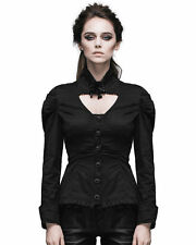 Waist Length Ruffle Fitted Tops & Blouses for Women