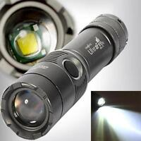 3000Lm UltraFire XML T6 LED Zoomable 18650 AAA Flashlight Torch Light Lamp