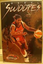 6a140f29077 Sheryl Swoopes ~ Houston Comets ~ 1998 ~ Vintage Costacos Full Size Poster
