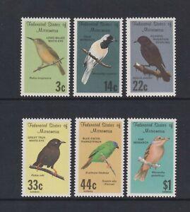 Mikronesien - 1988, Vögel Set - MNH - Sg 81/6