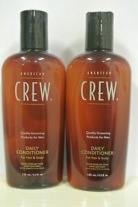AMERICAN CREW DAILY CONDITIONER 4.2 OZ For Hair and Scalp DUO