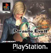 PARASITE EVE II (2 Cds) - für die PS1 / PlayStation 1 , TOP KULT Spiel!