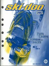 2002 SKI-DOO SNOWMOBILE MX Z 800 R PARTS MANUAL P/N 484 400 312  (178)