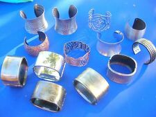 48 pcs Vintage wholesale Cuff Bangle Bracelet Jewelry*Ship From US/Canada*