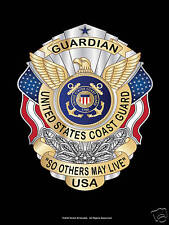 Guardian So Others May Live Military USCG Coast Guard Memorial Poster GIFT