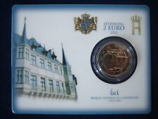 """MDS LUXEMBURG 2 EURO 2012 BU """"GUILLAUME IV"""" IN COINCARD"""