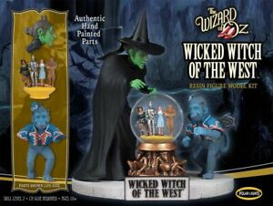Polar Lights Wicked Witch of the West 1:8 Resin Figure Model Kit Round2