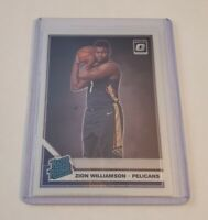 R59,469 - 2019-20 Donruss Optic #158 Rated Rookie Zion Williamson Pelicans