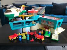 Vintage Fisher Price Little People Airport set!