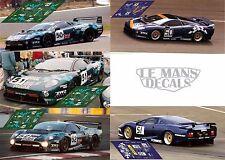 Calcas Jaguar XJ220 C Le Mans 1993 Race Test 1:32 1:24 1:43 1:18 slot decals