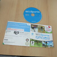 Wii SPORTS disc only NINTENDO Wii PAL 5x games included on disc