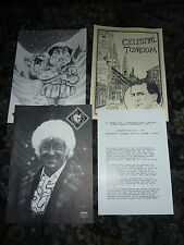 Celestial Toyroom Magazine x 3 plus Advert for video case, Doctor Who