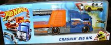 Hot Wheels Crashin' Big Rig Playset with 1 Vehicle New