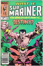 WHAT IF? #41 / SUB-MARINER HAD SAVED ATLANTIS FROM ITS DESTINY / MARVEL COMICS