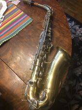 Buescher aristocrat alto saxophone Vintage From the Early  70 serial # 615741