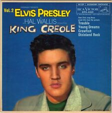 PRESLEY, Elvis  (Trouble // Crawfish // Young Dreams // etc..)  EP COVER ONLY!!!