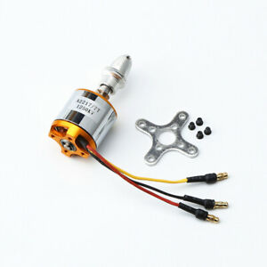 1250KV Brushless Motor Mount Outrunner for RC Fixed Wing Airplane Multi-copter
