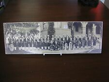 Vtg Algeria Temple Band in Costume Helena Montana Original Photograph 19x6 #62