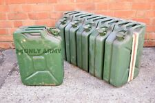 More details for german army 20 litre fuel can metal jerry can diesel petrol storage 20l military