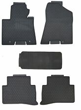 Floor Mats for 2016-2017 Hyundai Tucson Custom Fitment Black Rubber All Weather