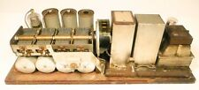 vintage * COURIER 8 TUBE CONSOLE  RADIO: Tested /Working CHASSIS & POWER SUPPLY