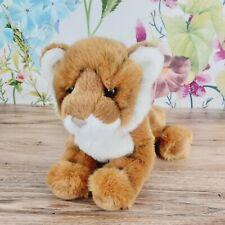 """12"""" Douglas Pancake Bengal Tiger Plush Cub Cuddle Toy Stuffed Animal"""