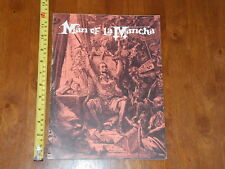 MAN OF LA MANCHA 1965 THEATER SOUVENIR PROGRAM VINTAGE NICE