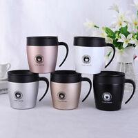 Stainless Steel Vacuum Flask Water Bottle Coffee Tea Cup Mug Outdoor Office