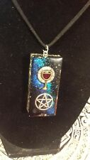 Orgone Energy - OrgoneIAM Wiccan Chalice Believe Healing Pendant