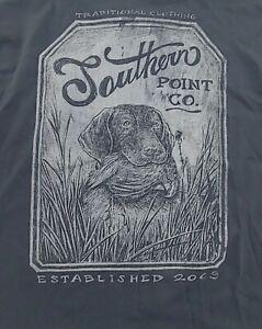 Southern Point Co. Men's Medium Long Sleeve Graphic Logo T-Shirt NWT