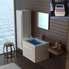 Waschplatz bestehend aus - Becken und Unterschrank -Design Spiegel- Badezimmer