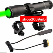 ND3x30 Hunting Long Distance Green Laser Designator Flashlight Sight For Rifle