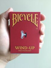 Bicycle Wind-Up Playing Cards Deck Brand New Sealed