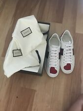 Gucci  Ace Sneaker Gr. 38 Leder weiß neu