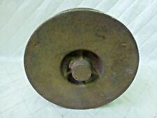 Cast Metal Foundry Spool Salmon Fishing Bronze Brass Steampunk Industrial Art