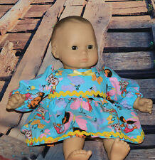 """Bitty Baby Size Handcrafted Dress. Fits baby dolls sized 15-16"""""""