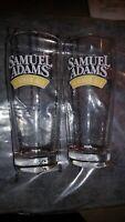Samuel Adams Seasonal Summer Ale Beer Glasses 16oz Set of 4