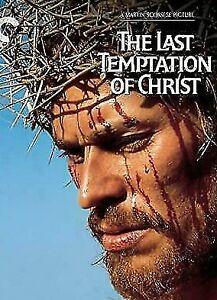 LAST TEMPTATION OF CHRIST DVD 1988 Movie Willem Dafoe - MARTIN SCORSESE