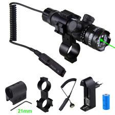 Einstellbar Grün Rot Dot Laser Sight Schienenmontage Montieren & Fernschalter